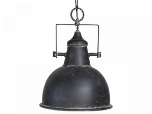 LAMPA FACTORY CHIC ANTIQUE 26 CM - CZARNA