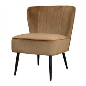 FOTEL CHIC ANTIQUE WELUROWY CARAMEL