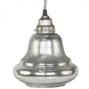 LAMPA SZKLANA DZWONEK CHIC ANTIQUE