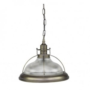 LAMPA INDUSTRIALNA CHIC ANTIQUE 35,5 CM - SZKLANA