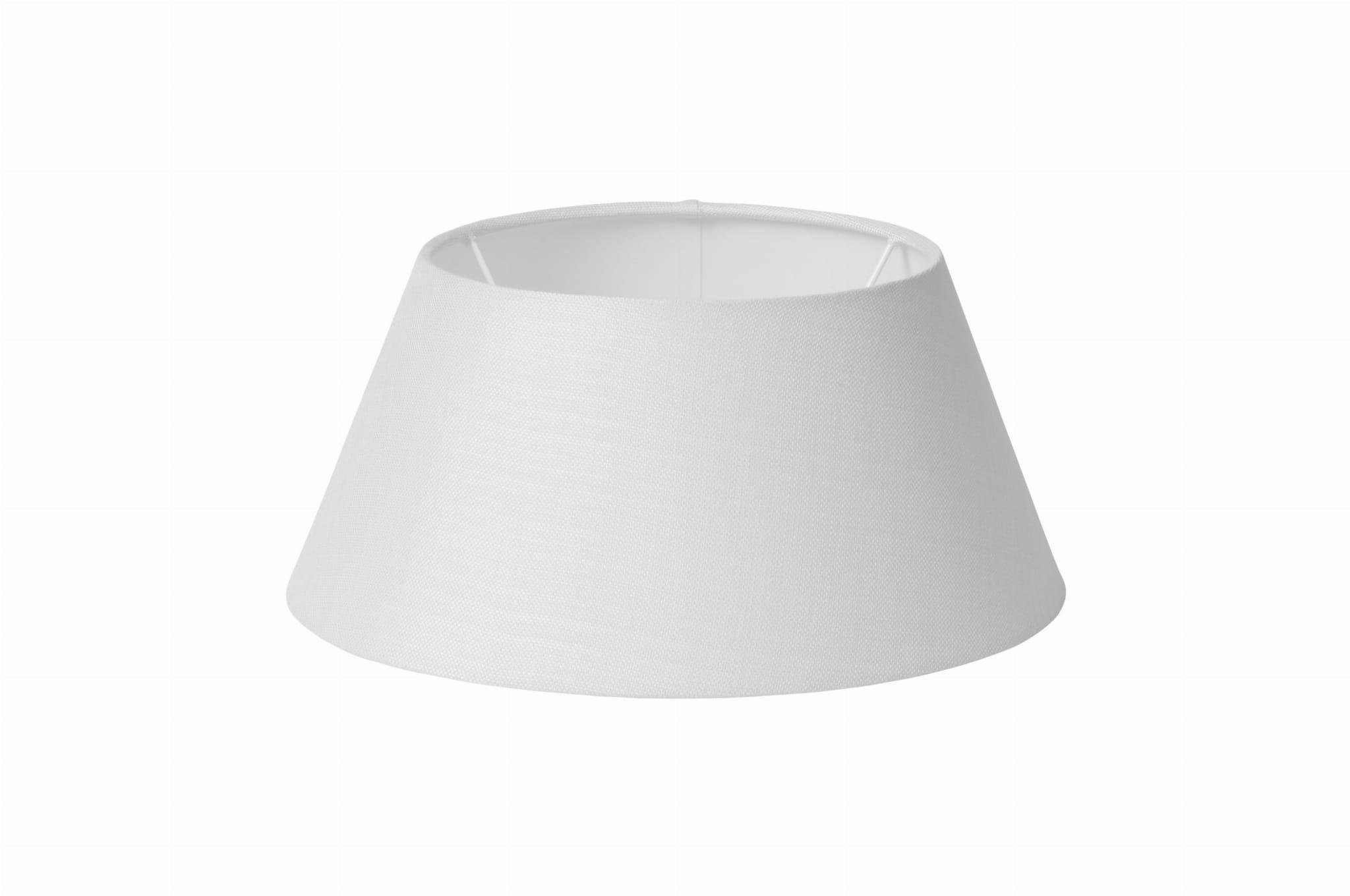 Abażur Klosz Do Lampy Lene Bjerre Biały Lniany ø15 Cm